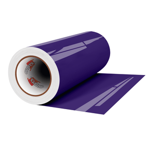 "Crafter's Vinyl Supply Cut Vinyl 12"" x 1 Yard ORACAL® 651 Vinyl - 404 Purple - Gloss Finish by Crafters Vinyl Supply"
