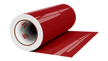 "Load image into Gallery viewer, Crafter's Vinyl Supply Cut Vinyl 12"" x 1 Yard ORACAL 651 Vinyl - 879 Valentine Red - Gloss Finish (Rolls) by Crafters Vinyl Supply"