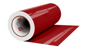 "Crafter's Vinyl Supply Cut Vinyl 12"" x 1 Yard ORACAL 651 Vinyl - 879 Valentine Red - Gloss Finish (Rolls) by Crafters Vinyl Supply"