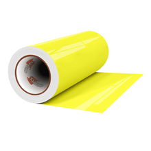 "Load image into Gallery viewer, Crafter's Vinyl Supply Cut Vinyl 12"" x 1 Yard ORACAL® 6510 Vinyl - 029 Yellow by Crafters Vinyl Supply"