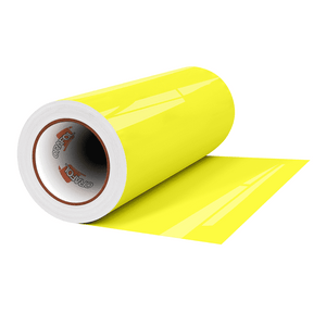 "Crafter's Vinyl Supply Cut Vinyl 12"" x 1 Yard ORACAL® 6510 Vinyl - 029 Yellow by Crafters Vinyl Supply"