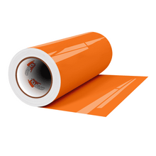 "Load image into Gallery viewer, Crafter's Vinyl Supply Cut Vinyl 12"" x 1 Yard ORACAL® 6510 Vinyl - 037 Orange by Crafters Vinyl Supply"