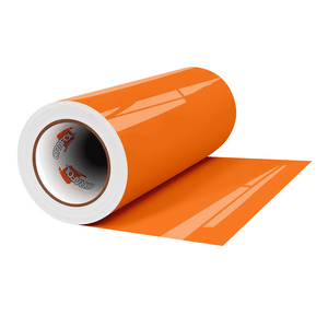 "Crafter's Vinyl Supply Cut Vinyl 12"" x 1 Yard ORACAL® 6510 Vinyl - 037 Orange by Crafters Vinyl Supply"