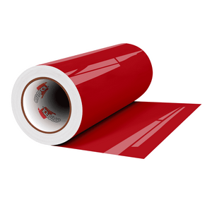 "Crafter's Vinyl Supply Cut Vinyl 12"" x 1 Yard ORACAL® 8300 Vinyl - 031 Red by Crafters Vinyl Supply"