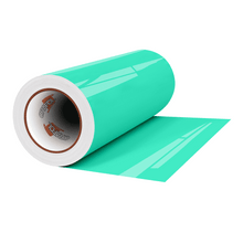 "Load image into Gallery viewer, Crafter's Vinyl Supply Cut Vinyl 12"" x 1 Yard ORACAL® 8300 Vinyl - 054 Turquoise by Crafters Vinyl Supply"