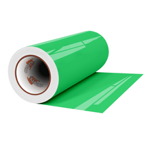 "Load image into Gallery viewer, Crafter's Vinyl Supply Cut Vinyl 12"" x 1 Yard ORACAL® 8300 Vinyl - 061 Green by Crafters Vinyl Supply"