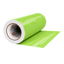 "Load image into Gallery viewer, Crafter's Vinyl Supply Cut Vinyl 12"" x 1 Yard ORACAL® 8300 Vinyl - 063 Lime-Tree Green by Crafters Vinyl Supply"