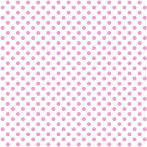 "Crafter's Vinyl Supply Cut Vinyl 12"" x 15"" Siser EasyPattern Polka Dots Pink by Crafters Vinyl Supply"