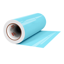 "Load image into Gallery viewer, Crafter's Vinyl Supply Cut Vinyl 12"" x 1 Yard ORACAL® 8300 Vinyl - 056 Ice Blue by Crafters Vinyl Supply"