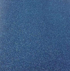 "Crafter's Vinyl Supply Cut Vinyl 20"" x 12"" Siser Glitter Blue by Crafters Vinyl Supply"