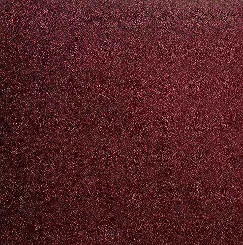 "Crafter's Vinyl Supply Cut Vinyl 20"" x 12"" Siser Glitter Burgundy by Crafters Vinyl Supply"