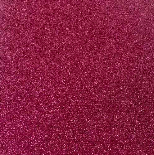 "Crafter's Vinyl Supply Cut Vinyl 20"" x 12"" Siser Glitter Cherry by Crafters Vinyl Supply"
