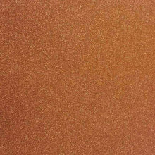 "Load image into Gallery viewer, Crafter's Vinyl Supply Cut Vinyl 20"" x 12"" Siser Glitter Copper by Crafters Vinyl Supply"