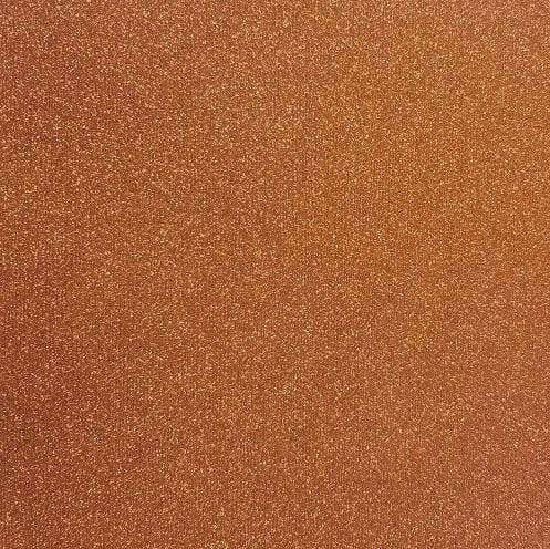 "Crafter's Vinyl Supply Cut Vinyl 20"" x 12"" Siser Glitter Copper by Crafters Vinyl Supply"