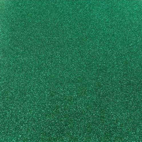 "Crafter's Vinyl Supply Cut Vinyl 20"" x 12"" Siser Glitter Emerald by Crafters Vinyl Supply"