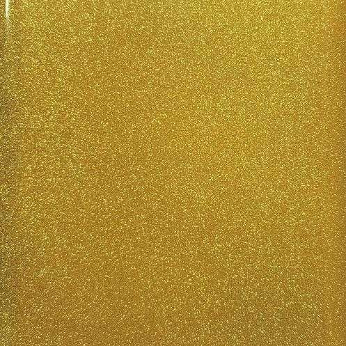 "Crafter's Vinyl Supply Cut Vinyl 20"" x 12"" Siser Glitter Gold by Crafters Vinyl Supply"