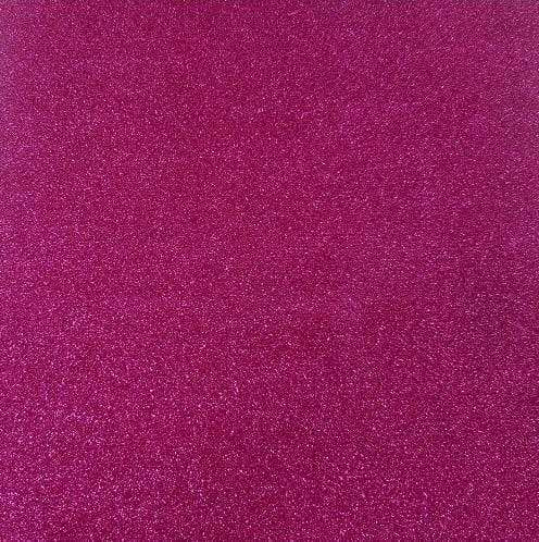 "Crafter's Vinyl Supply Cut Vinyl 20"" x 12"" Siser Glitter Hot Pink by Crafters Vinyl Supply"