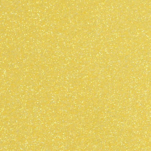 "Crafter's Vinyl Supply Cut Vinyl 20"" x 12"" Siser Glitter Lemon Sugar by Crafters Vinyl Supply"
