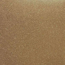 "Load image into Gallery viewer, Crafter's Vinyl Supply Cut Vinyl 20"" x 12"" Siser Glitter Old Gold by Crafters Vinyl Supply"