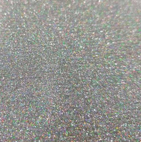 "Crafter's Vinyl Supply Cut Vinyl 20"" x 12"" Siser Glitter Silver Confetti by Crafters Vinyl Supply"