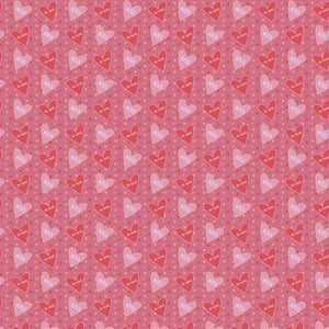 "Crafter's Vinyl Supply Cut Vinyl ORAJET 3651 / 12"" x 12"" Be Mine 1 - Pattern Vinyl and HTV by Crafters Vinyl Supply"
