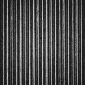 "Crafter's Vinyl Supply Cut Vinyl ORAJET 3651 / 12"" x 12"" Black Corrugated Cardboard - Pattern Vinyl and HTV by Crafters Vinyl Supply"