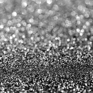"Crafter's Vinyl Supply Cut Vinyl ORAJET 3651 / 12"" x 12"" Black Printed Faux Glitter Bokeh - Pattern Vinyl and HTV by Crafters Vinyl Supply"