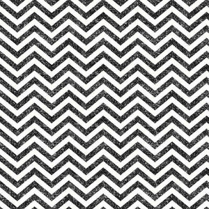 "Crafter's Vinyl Supply Cut Vinyl ORAJET 3651 / 12"" x 12"" Black Printed Faux Glitter Chevron - Pattern Vinyl and HTV by Crafters Vinyl Supply"