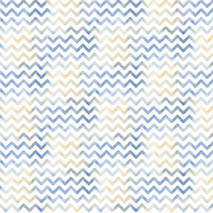 "Crafter's Vinyl Supply Cut Vinyl ORAJET 3651 / 12"" x 12"" Blue Chevron - Pattern Vinyl and HTV by Crafters Vinyl Supply"