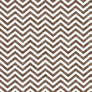 "Crafter's Vinyl Supply Cut Vinyl ORAJET 3651 / 12"" x 12"" Brown Printed Faux Glitter Chevron - Pattern Vinyl and HTV by Crafters Vinyl Supply"