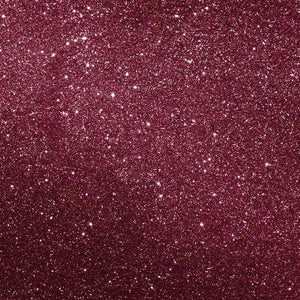 "Crafter's Vinyl Supply Cut Vinyl ORAJET 3651 / 12"" x 12"" Burgundy Printed Faux Glitter - Pattern Vinyl and HTV by Crafters Vinyl Supply"