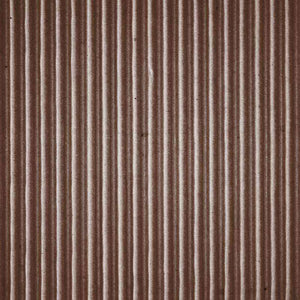 "Crafter's Vinyl Supply Cut Vinyl ORAJET 3651 / 12"" x 12"" Chocolate Brown Corrugated Cardboard - Pattern Vinyl and HTV by Crafters Vinyl Supply"