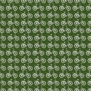 "Crafter's Vinyl Supply Cut Vinyl ORAJET 3651 / 12"" x 12"" Dark Green Ride A Bike - Pattern Vinyl and HTV by Crafters Vinyl Supply"