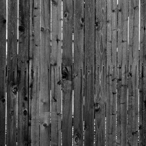 "Crafter's Vinyl Supply Cut Vinyl ORAJET 3651 / 12"" x 12"" Dark Wood Fence With Cracks - Pattern Vinyl and HTV by Crafters Vinyl Supply"