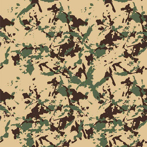 "Crafter's Vinyl Supply Cut Vinyl ORAJET 3651 / 12"" x 12"" Desert Oasis Camo - Pattern Vinyl and HTV by Crafters Vinyl Supply"