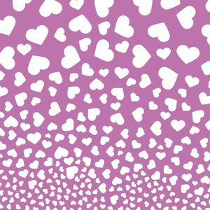 "Crafter's Vinyl Supply Cut Vinyl ORAJET 3651 / 12"" x 12"" Falling Hearts Pattern 9 - Pattern Vinyl and HTV by Crafters Vinyl Supply"