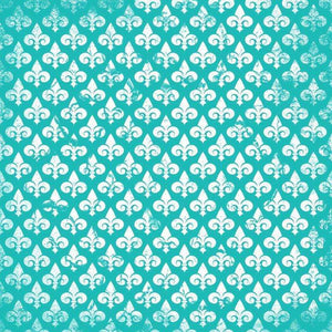 "Crafter's Vinyl Supply Cut Vinyl ORAJET 3651 / 12"" x 12"" Fleur De Lis Patterns 13 - Pattern Vinyl and HTV by Crafters Vinyl Supply"