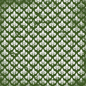 "Crafter's Vinyl Supply Cut Vinyl ORAJET 3651 / 12"" x 12"" Fleur De Lis Patterns 20 - Pattern Vinyl and HTV by Crafters Vinyl Supply"