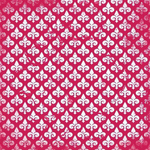 "Crafter's Vinyl Supply Cut Vinyl ORAJET 3651 / 12"" x 12"" Fleur De Lis Patterns 7 - Pattern Vinyl and HTV by Crafters Vinyl Supply"