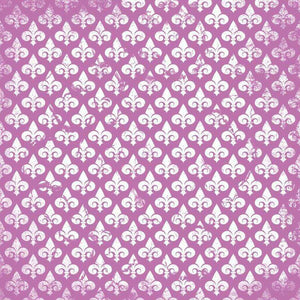 "Crafter's Vinyl Supply Cut Vinyl ORAJET 3651 / 12"" x 12"" Fleur De Lis Patterns 9 - Pattern Vinyl and HTV by Crafters Vinyl Supply"