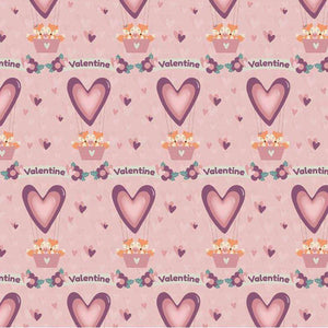 "Crafter's Vinyl Supply Cut Vinyl ORAJET 3651 / 12"" x 12"" Foxy Valentine 9 - Pattern Vinyl and HTV by Crafters Vinyl Supply"
