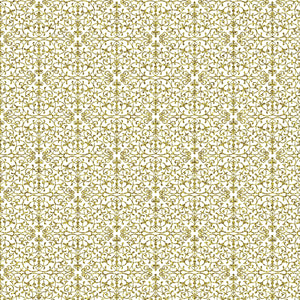 "Crafter's Vinyl Supply Cut Vinyl ORAJET 3651 / 12"" x 12"" Gold Damask - Pattern Vinyl and HTV by Crafters Vinyl Supply"