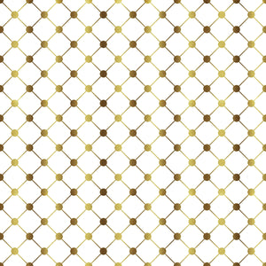 "Crafter's Vinyl Supply Cut Vinyl ORAJET 3651 / 12"" x 12"" Gold Dots & Lines - Pattern Vinyl and HTV by Crafters Vinyl Supply"