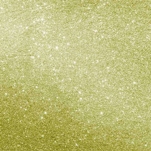 "Crafter's Vinyl Supply Cut Vinyl ORAJET 3651 / 12"" x 12"" Gold Printed Faux Glitter - Pattern Vinyl and HTV by Crafters Vinyl Supply"