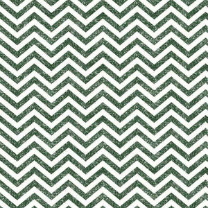 "Crafter's Vinyl Supply Cut Vinyl ORAJET 3651 / 12"" x 12"" Green Printed Faux Glitter Chevron - Pattern Vinyl and HTV by Crafters Vinyl Supply"