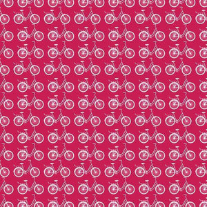 "Crafter's Vinyl Supply Cut Vinyl ORAJET 3651 / 12"" x 12"" Hot Pink Ride A Bike - Pattern Vinyl and HTV by Crafters Vinyl Supply"