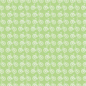 "Crafter's Vinyl Supply Cut Vinyl ORAJET 3651 / 12"" x 12"" Key Lime Pie Ride A Bike - Pattern Vinyl and HTV by Crafters Vinyl Supply"