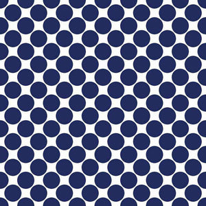 "Crafter's Vinyl Supply Cut Vinyl ORAJET 3651 / 12"" x 12"" Large Colored Dot Pattern 16 - Pattern Vinyl and HTV by Crafters Vinyl Supply"