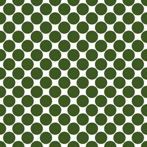 "Crafter's Vinyl Supply Cut Vinyl ORAJET 3651 / 12"" x 12"" Large Colored Dot Pattern 20 - Pattern Vinyl and HTV by Crafters Vinyl Supply"