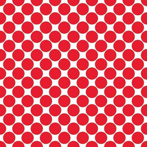 "Crafter's Vinyl Supply Cut Vinyl ORAJET 3651 / 12"" x 12"" Large Colored Dot Pattern 8 - Pattern Vinyl and HTV by Crafters Vinyl Supply"